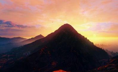 GTA V redux nature mountains