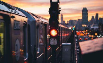 Train of new york city