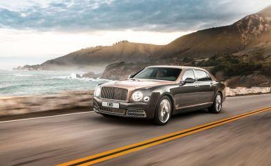 Bentley Mulsanne, Gray luxury car