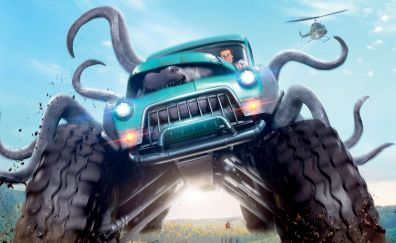 Monster trucks lucas till 2017 movie
