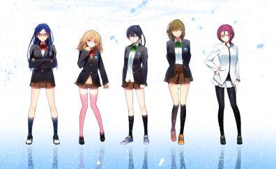 Anime girls, free!