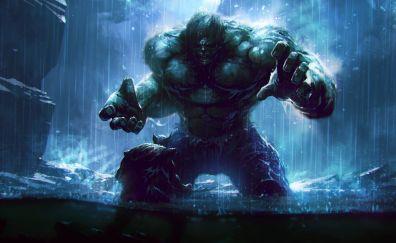 Hulk and wolverine