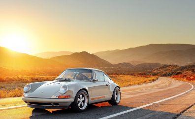 Singer Porsche car