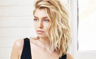 Beautiful Stella Maxwell, Irish model, blonde