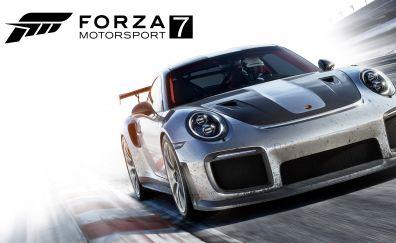 Forza motorsport 7, video game, car, 4k, 8k