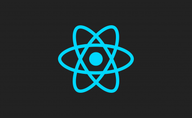 ReactJS, minimal, logo