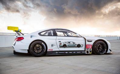 2016 BMW art car side view