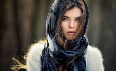 Cute girl model