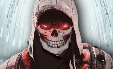 Killzone Shadow Fall video game, skull