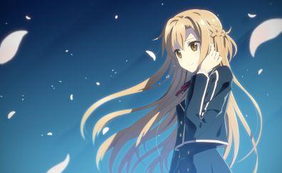 Asuna yuuki, sword art online, anime