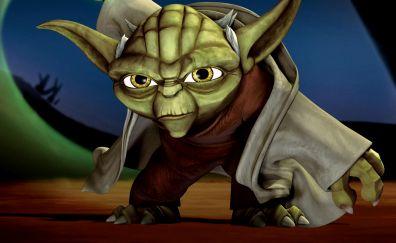 Star Wars: The Clone Wars, TV show, yoda