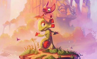 Yooka-Laylee, video game, 2017 game