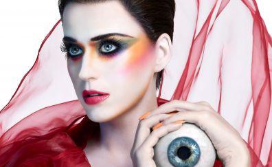 Katy Perry, witness, make up, eye