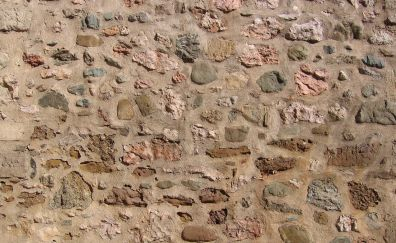 Stones wall, surface