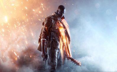 Garner of battlefield one video game