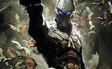 Batman: Arkham Knight, video game, art