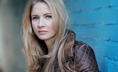 Eliza Bennett, blonde, celebrity, face