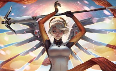 Mercy of overwatch video game