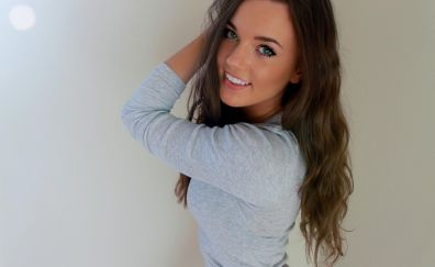 Cute smile of women