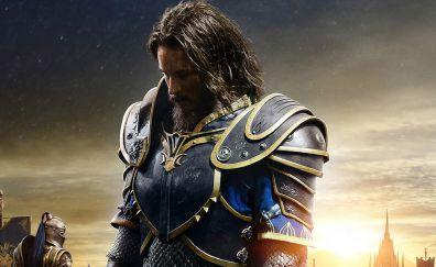 Travis fimmel, warcraft, knight, warrior, movie