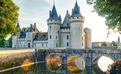 Chateau de Sully-sur-Loire, castle, France
