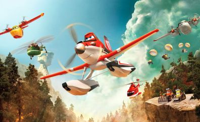 Planes: Fire and Rescue, 2014 movie, animated movie
