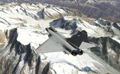 X-Plane 11, fighter aircraft