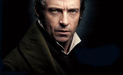 Hugh jackman in Les Misérables movie