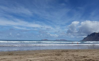 Lanzarote Beach, beach, sea
