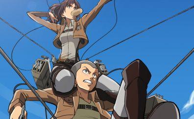 Sasha Blouse, Attack on Titan, anime girl