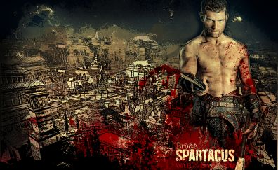 Spartacus tv show, Andy Whitfield, poster
