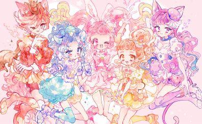 Kirakira, Precure a la Mode, Cure Custard, Kenjou Akira, Cure Whip, Tategami Aoi, anime