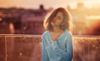Delaia Gonzalez, model, sunlight