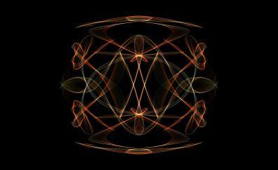 Mandala, abstract, pattern, art