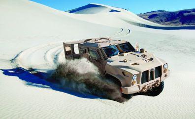 Joint light tactical vehicle, truck, desert
