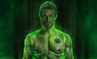 Green Arrow, Oliver Queen, season 6, green art