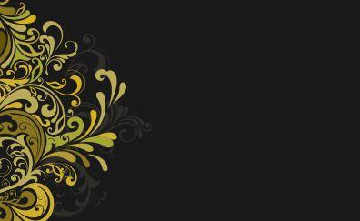 Floral texture artwork