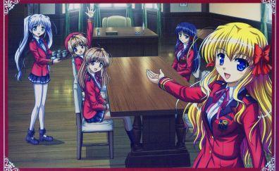 Anime girls of fortune arterial