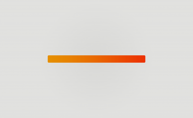 Orange gradient bar minimal
