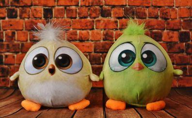 Birdie plush toys