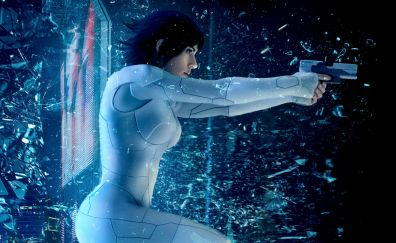 Ghost in the shell 2017 movie, 4k