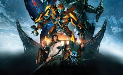 Transformers: The last knight, 2017 movie, cast, poster