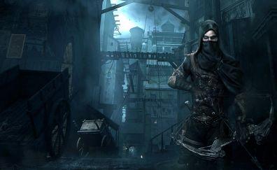 Thief video game, assassin, warrior