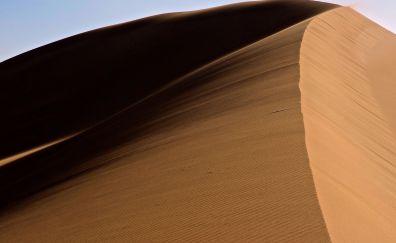 Desert dune, nature, desert, sand