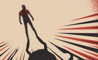 Ant man, marvel comics, superhero