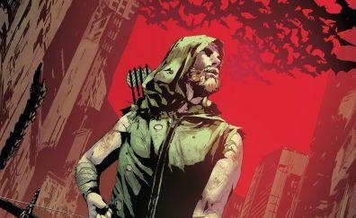Green arrow, superhero
