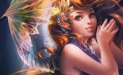 Fantasy, girl, artwork