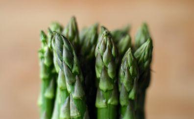 Asparagus, green vegetables, blur