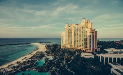 Hotel at beach
