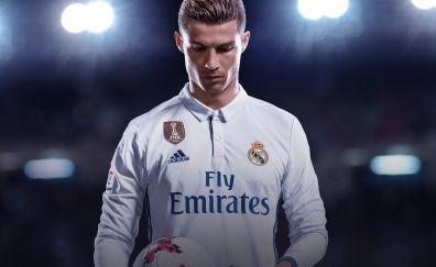 Cristiano Ronaldo, FIFA 18, video game